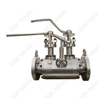 SQK A182 F321H Stainless Steel Ball Valve