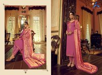 Sahir Designer Gorgette Satin With Bottom Work With Digital Print Dupatta