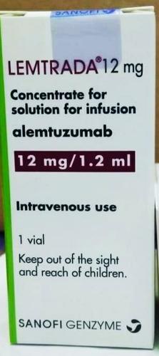 ALEMTUZUMAB 12MG/1.2ML