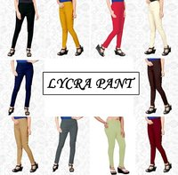 Designer Cotton Lycra Pant Cataloge