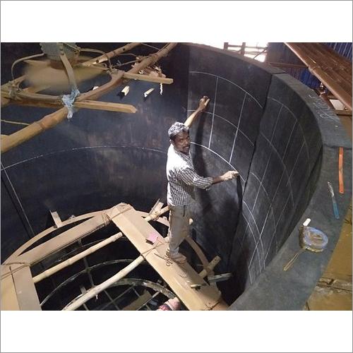 Mild Steel Rubber Lined Tank