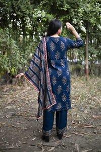 Royal Designer Rayon Kurti With Pant & Dupatta