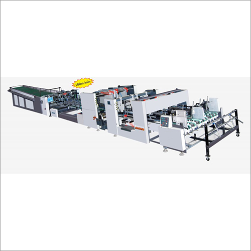 JT Series High Speed Fully Automatic Folder Gluer Machine