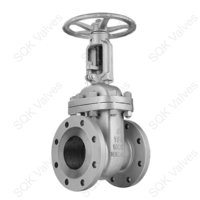 SQK A217 CA15 Cast Alloy Steel Gate Valve