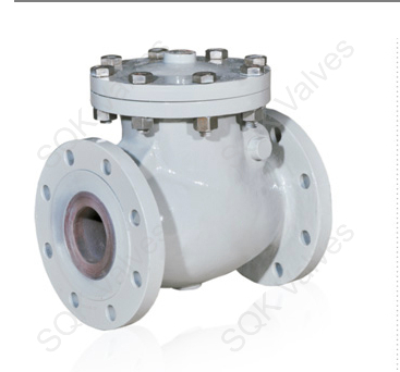 SQK A217 WC9 Cast Alloy Steel Swing Check Valve