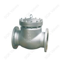 SQK A351 CF8 Stainless Steel Swing Check Valve