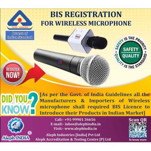 BIS Registration Service For Wireless Microphone