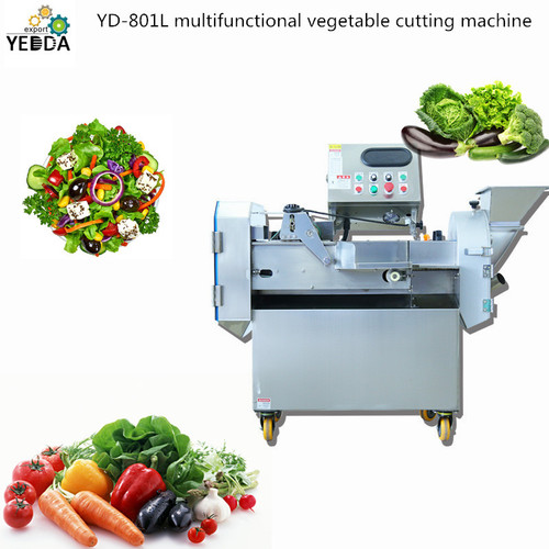 Yd-801l Heavy Duty Multifunctional Vegetable Cutting Machine