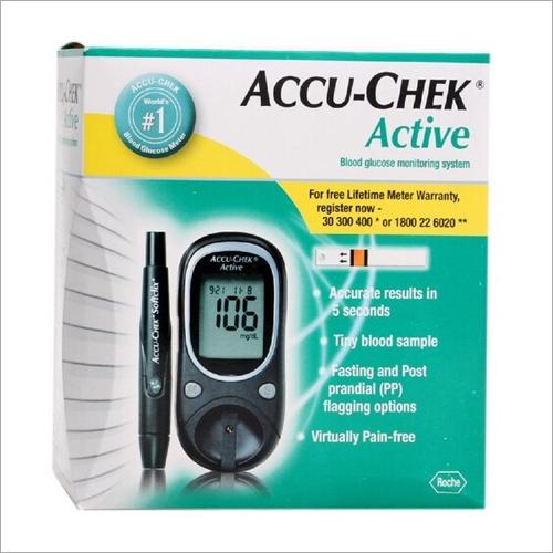 Accu-Check Active Blood Sugar Monitor