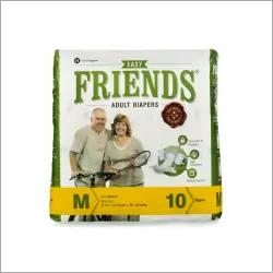 Pack of 10 Medium Freinds Adult Diaper