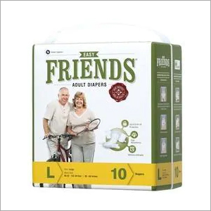Large Pack Of 10 Freinds Adult Diaper