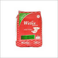 Multicolor Large Pack Of 10 Wetex Supreme Adult Diaper