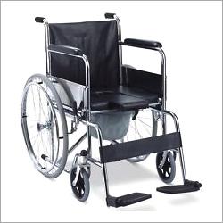 Karma Folding Commode Wheelchair Rainbow 6