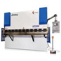 NC Hydraulic Front Cylinder Press Brake Machine