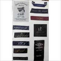 Printed Fabric Garment Label