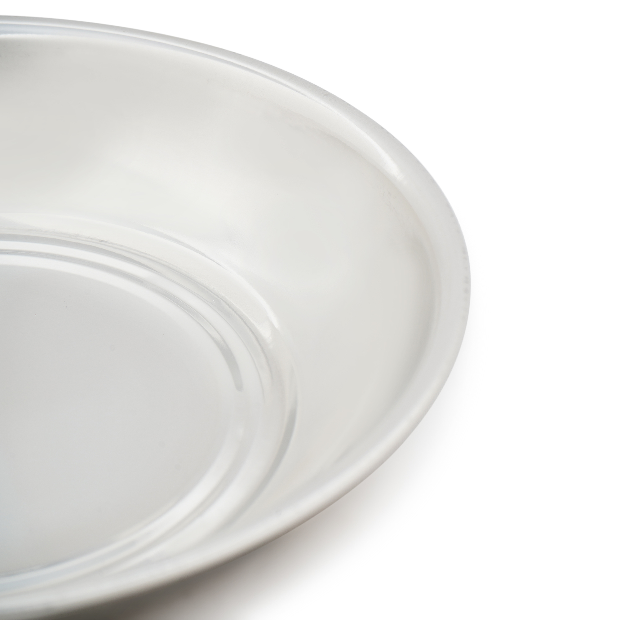 SS Halwa Plate