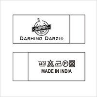 Digital Printed Folder Label