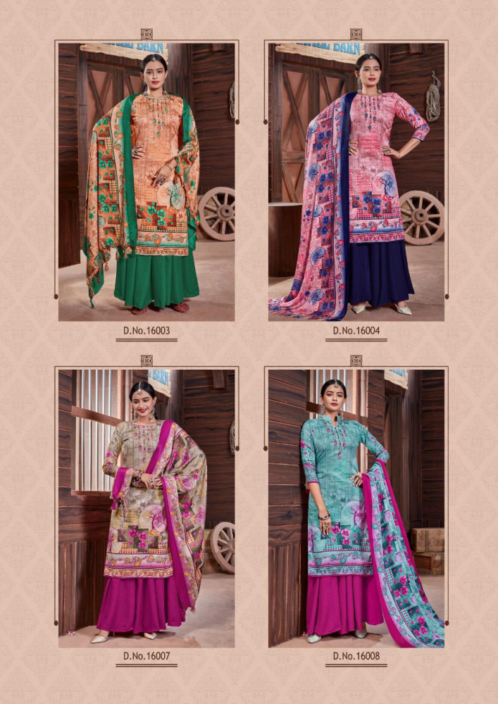 Roli Moli Silky Vol 13 Pashmina Dress Material