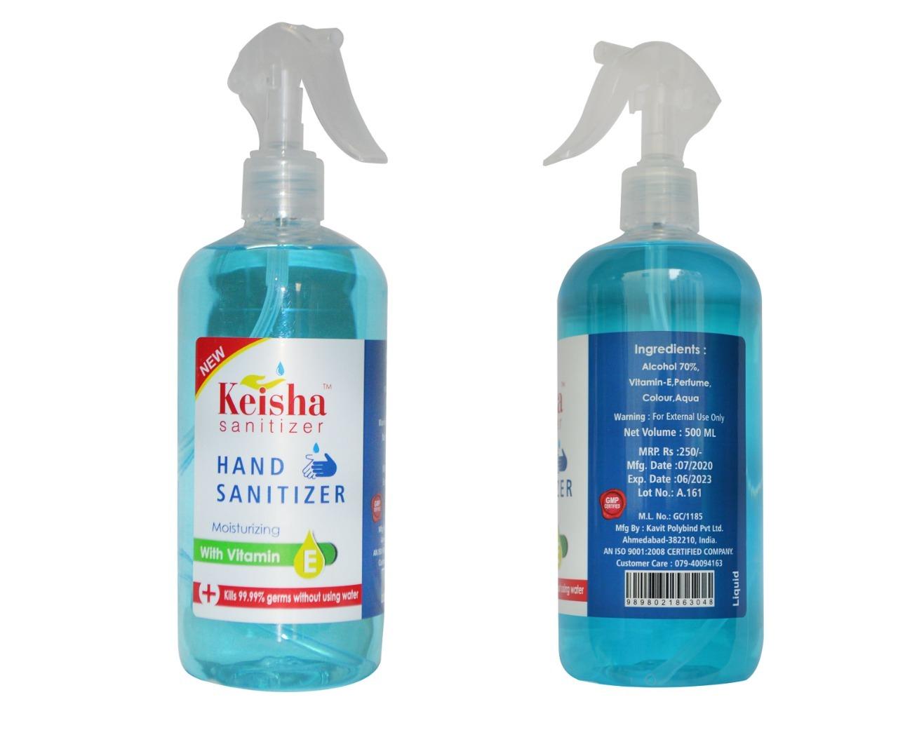 Sanitizer Liquid 500 ML