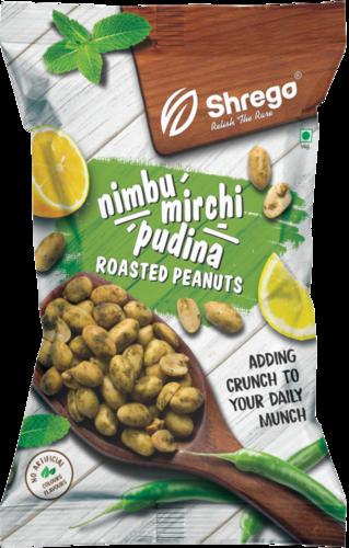 Shrego Nimbu Mirchi Pudina Roasted Peanuts 140 G
