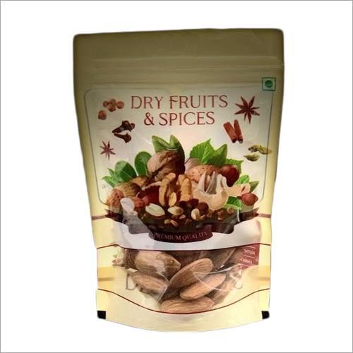Dry Fruit And Spices Stand Pouch With Lock