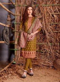 Shiv Gori Silk Mills Jubaida Vol-4 The Premium Kashmiri Wool Winter Suits Catalog