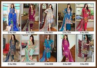 Sapphire Lawn Pakistani Print Dress Material Catalog