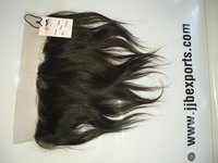 Natural Virgin Straight Hair Swiss Transparent HD Lace Frontal Closure