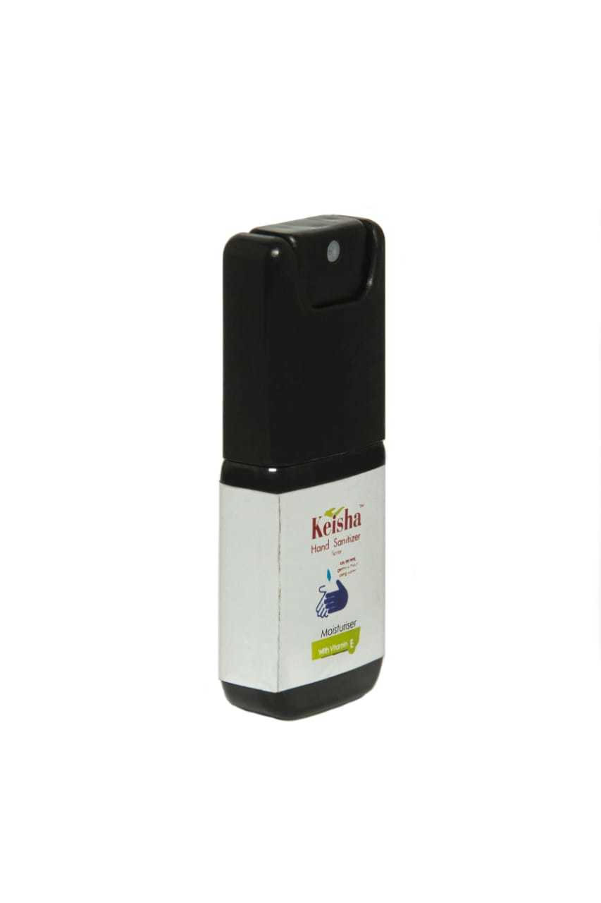 keisha sanitizer 10 ml pocket spray
