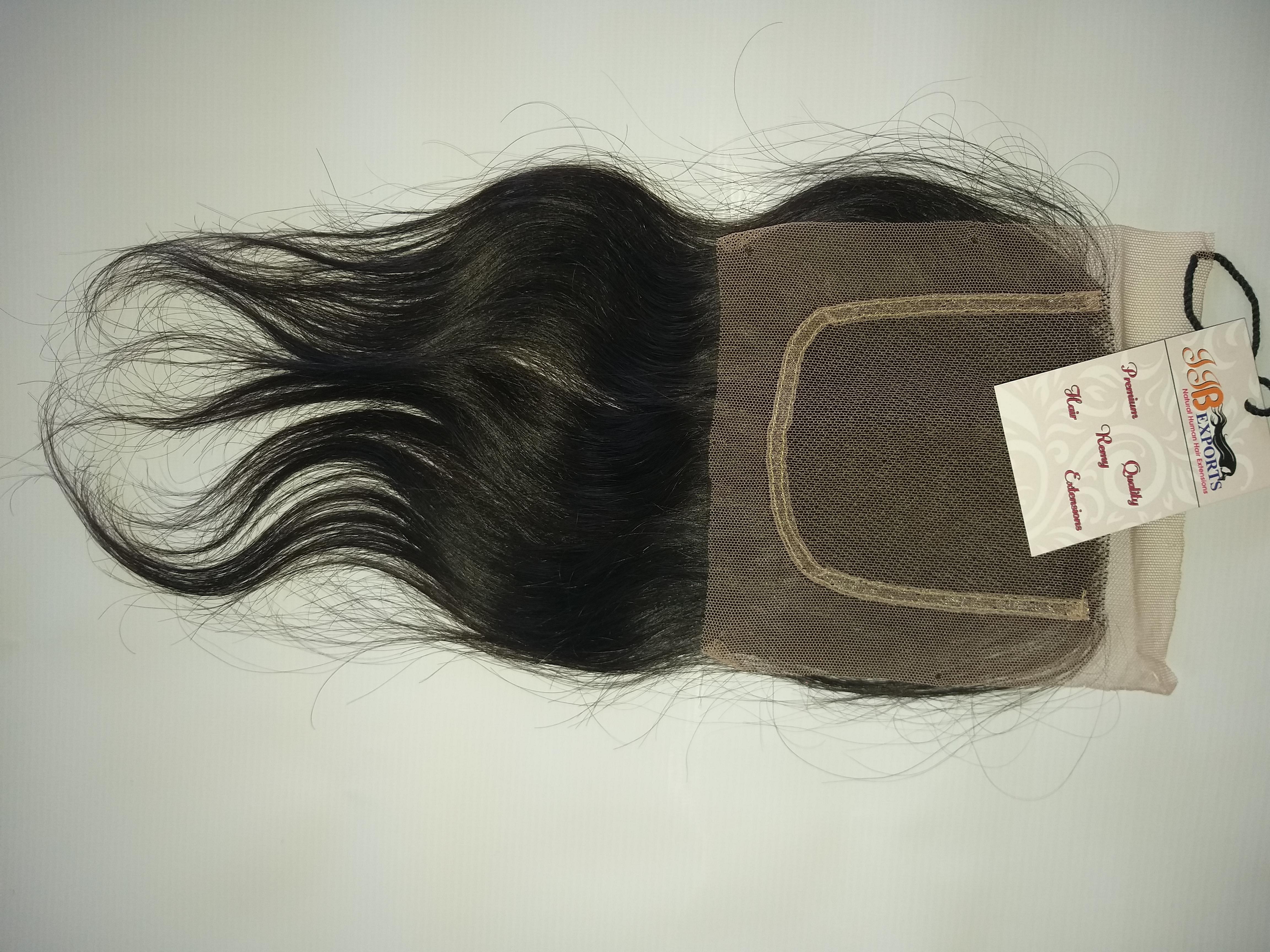Natural Raw Hair Swiss HD Lace Closure
