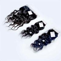 High Quality Orginal Indian Raw Virgin Wavy Thin HD Lace Closure Frontal Hair
