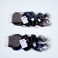 Wavy Raw Hair Thin HD Lace Closure