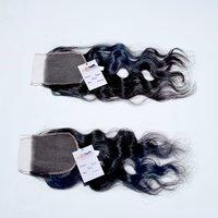 Wholesale Price Natural Raw Wavy Hair HD Lace Closure