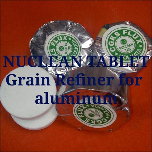 Nuclean Tablet Grain Refiner for Aluminium