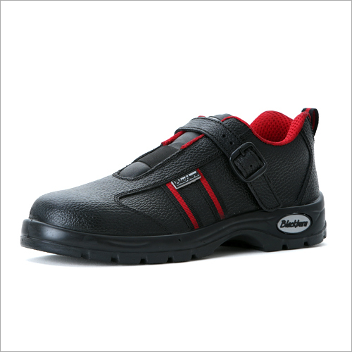 Buff Leather Safety Shoes