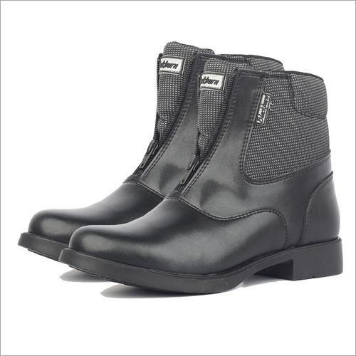 Mens Black Riding Boots