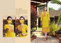 Chingari Vol-4 Designer Cotton Long Kurtis