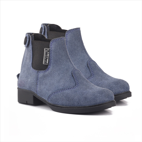 Blue Kids Chelsea Boots