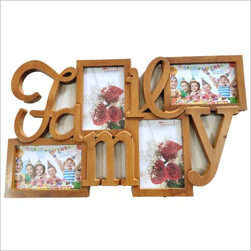 Wooden Family Photo Frame