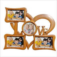 Heart Shape Decorative Family Photo Frame