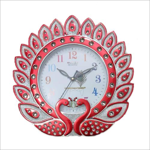 Beautiful Peacock Design Wall Clock