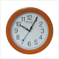 Round Plastic Wall Clock