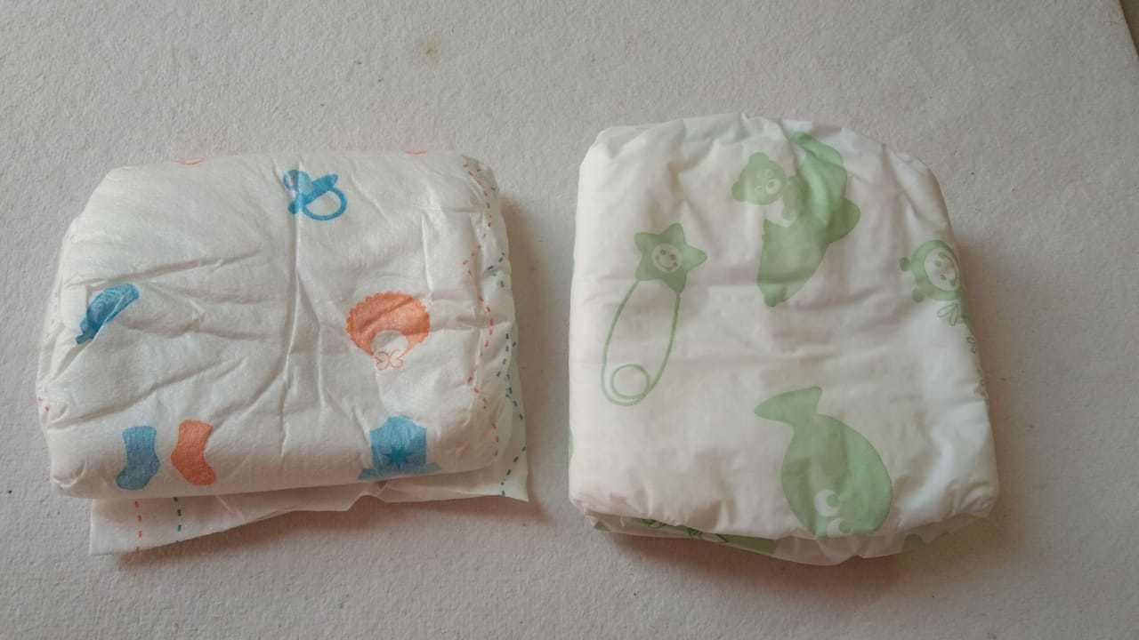 Velcro Diaper