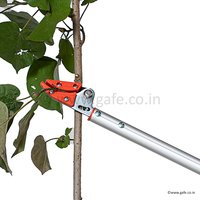 Telescopic  Long Reach Fruit Picker Cut And Hold 4 Mtr Aluminium