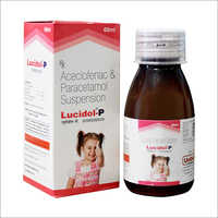 Acceclofenac and Paracetamol Syrup