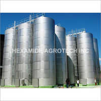 Industrial Chemical Storage Tank