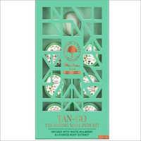 Mintree Tan Go Tan Fading Moon Sparkle Manicure Pedicure Kit Earth