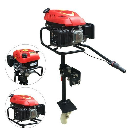 Aircooled 6hp 4 Stroke Outboard Engine Motor