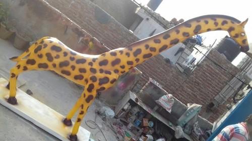 FRP Giraffe Sculpture