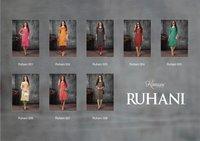 Kanasu Ruhani Rayon Straight With Work Designer Kurti Catalog